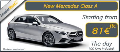New mercedes class A
