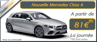Nouvelle Mercedes Class A